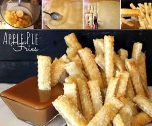 food, diy, and fries image