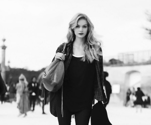 fashion, model, and blonde image