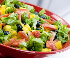 fit, food, and salad image