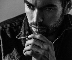 Chace Crawford, gossip girl, and black and white image