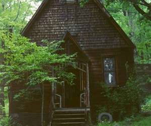 architecture, dream home, and witch house image