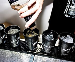 jack daniels, drink, and alcohol image