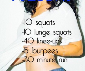 workout plan and daily workout image