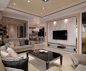 chic, luxury, and home image