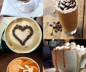 marshmellows, hot ​chocolate, and cute image