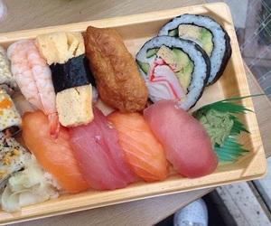 sushi, theme, and food image