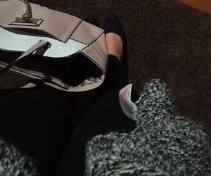girl, going out, and handbag image
