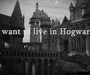 hogwarts, harry potter, and live image