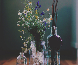 flowers, vintage, and indie image