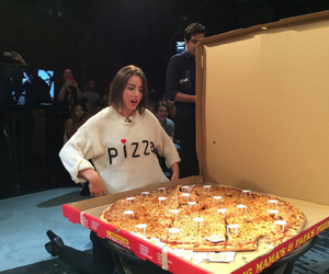 chloe bennet, pizza, and agents of shield image