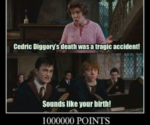 harry potter, gryffindor, and funny image