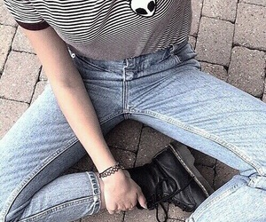 choker, outfit, and style image