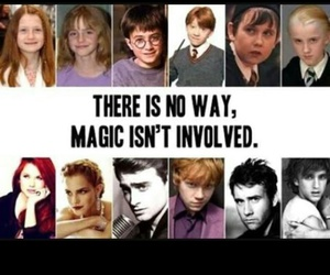 magic, harry potter, and harrypotter image