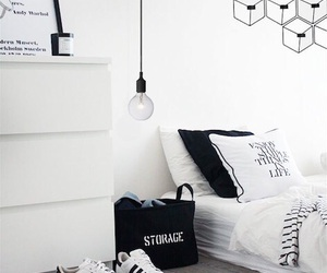 room, white, and adidas image