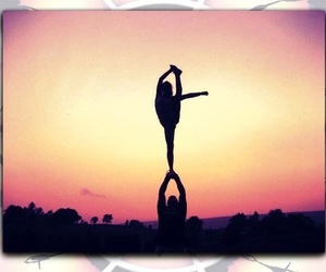cheerleading, bow and arrow, and cheer image