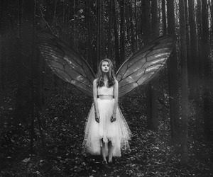 alone, fairy, and ghost image