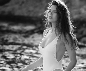 beach, Emily Didonato, and fashion image