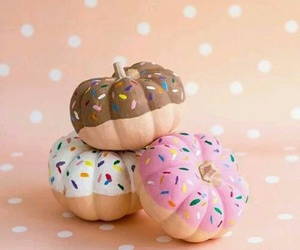 donuts, pumpkin, and diy image