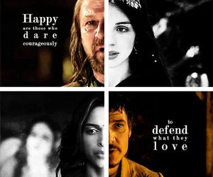 game of thrones, oberyn martell, and lyanna stark image