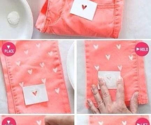 diy, jeans, and heart image