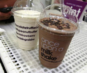 chocolate, milkshake, and food image