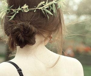 girl, hair, and back image