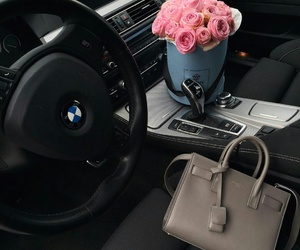 bmw, classy, and flowers image