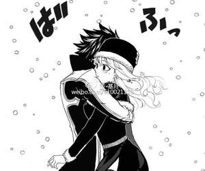 fairy tail, anime, and gruvia image