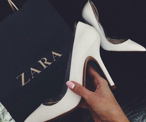 fashion, Zara, and shoes image