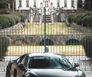 car, audi, and house image