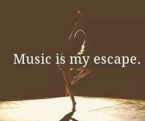 music, escape, and dance image