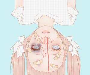 blood, anime, and kawaii image