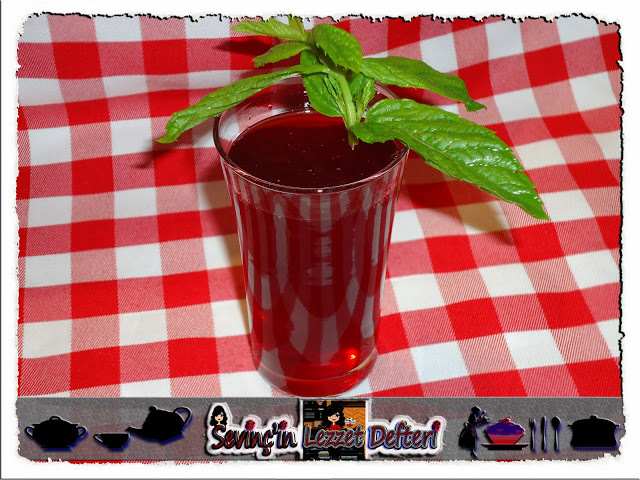 cherry, drinks, and food image