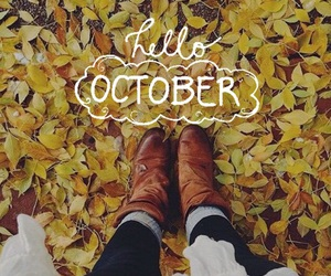 fall, october, and love image