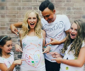 candice accola, baby, and tvd image