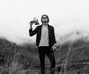 jack harries, boy, and black and white image