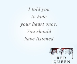book, quotes, and red queen image