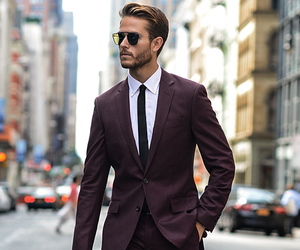 fashion, suit, and style image