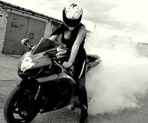 bike, black, and moto image