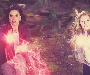 once upon a time, emma swan, and lana parrilla image