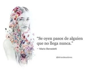 poesia, benedetti, and frases en español image