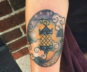 arm tattoo, forearm tattoo, and ink image