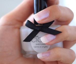 nails, makeup, and nail polish image