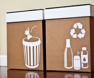 garbage, recycle, and design milk image