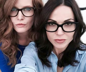 lana parrilla, once upon a time, and rebecca mader image