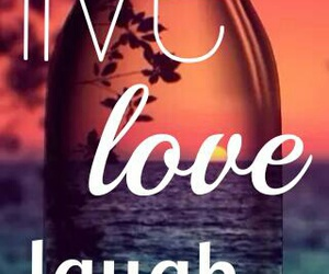 blue, live, and laugh image