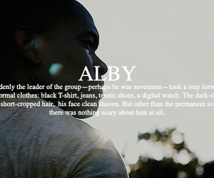 the maze runner, alby, and aml ameen image