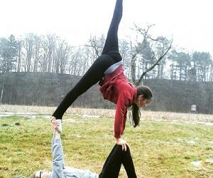 acrobatic, dance, and Figure image
