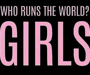 feminism, feminist, and runstheworld image