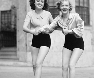 vintage, black and white, and friends image